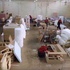Работа на фабрике мягкой и корпусной мебели