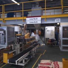 Работа на заводе по производству гранулята