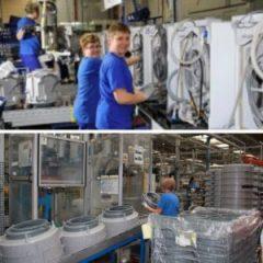 работа на завод по производству бытовой техники