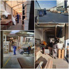 Работники на предприятие по производству мебели